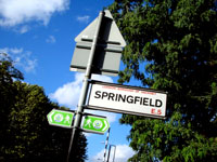 springfield street sign